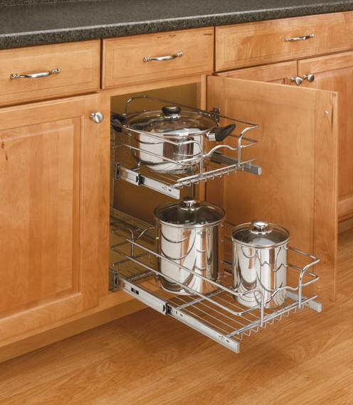 kitchen pull out shelves rv appliances shelf depot wire pullout shelving