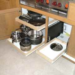 Kitchen Pull Out Shelves Scrub Brush Holder Custom Outs For Your Cabinets Shelf Pullout Shelving