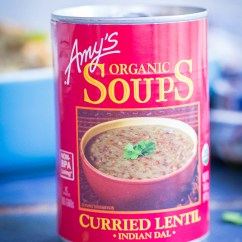 Amy's Kitchen Soup Pink Aid Mixer Curried Lentil & Quinoa Stuffed Sweet Potatoes - She Likes ...