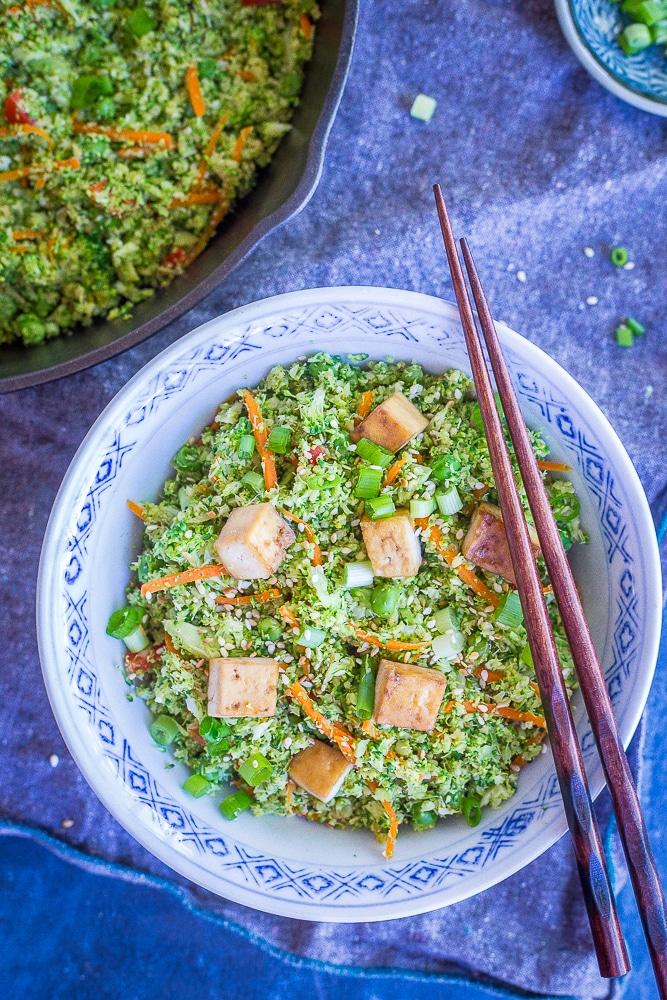 "Easy Broccoli ""Fried Rice"""