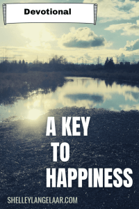 A key to happiness - choice