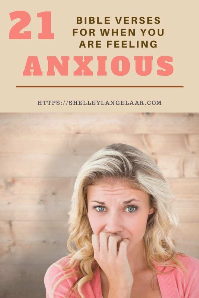 21 scriptures for when your experiencing anxiety