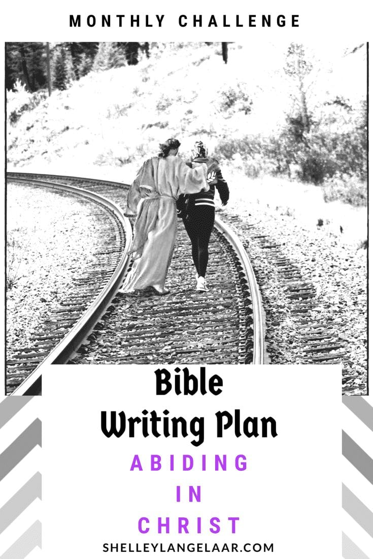 Scripture Writing Challenge ~ Abiding in Christ