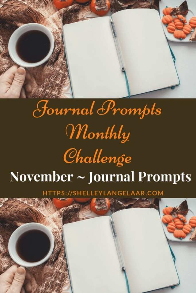 November Journal Prompts Plan