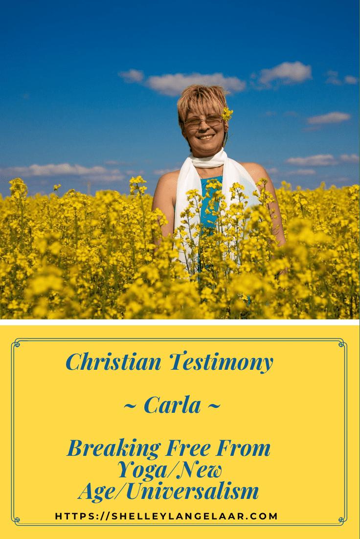 Freedom from yoga - christian testimony