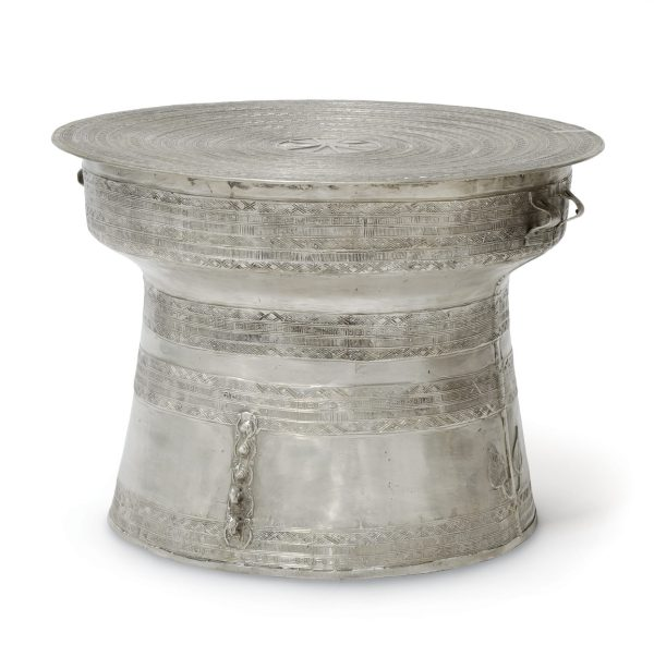 Outdoor Rain Drum Coffee Table