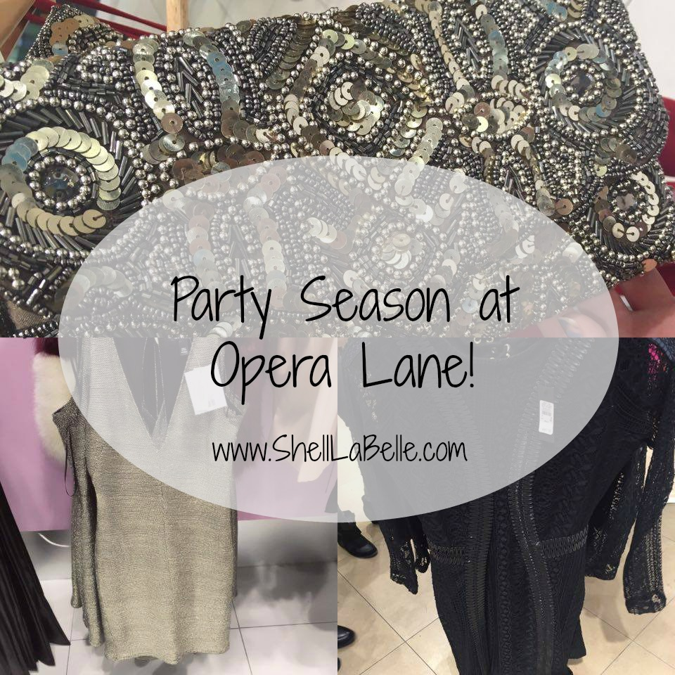 Party Season at Opera Lane
