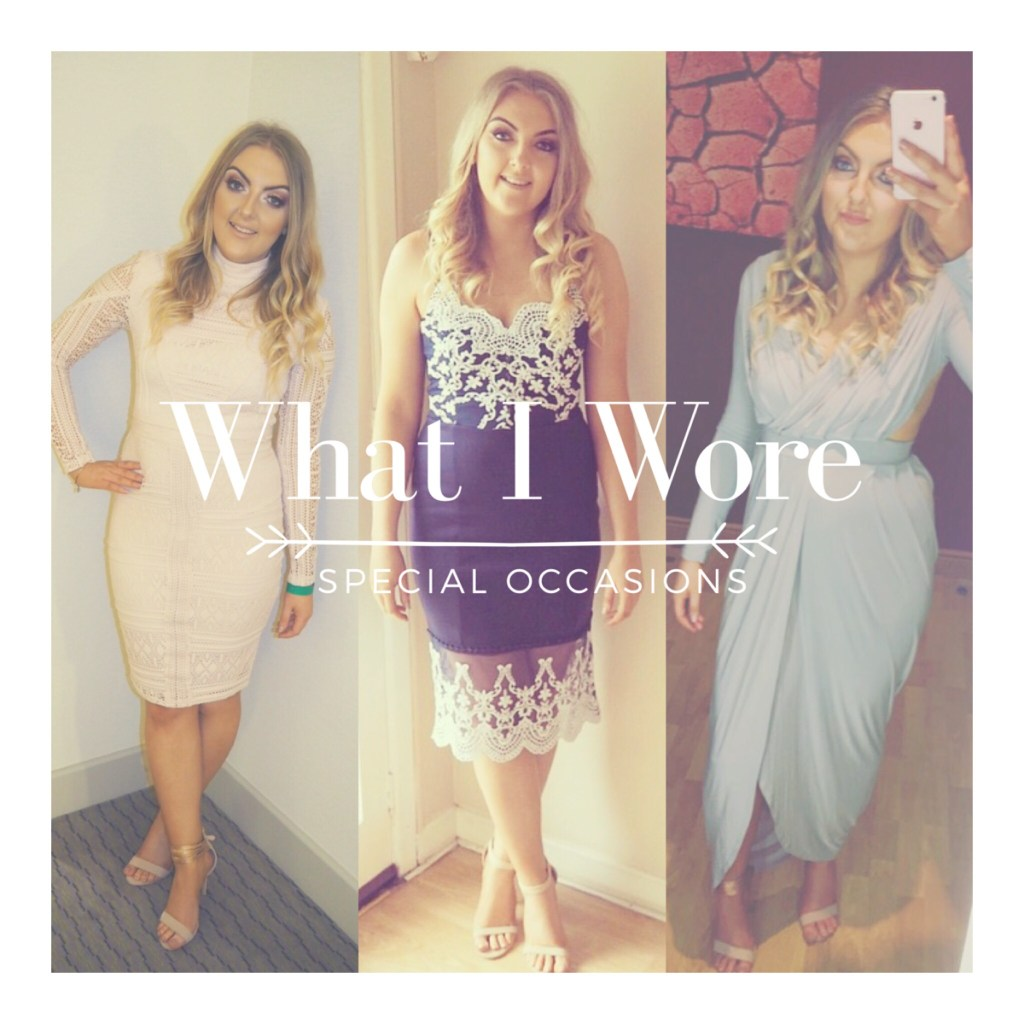 What I Wore: Special Occasions