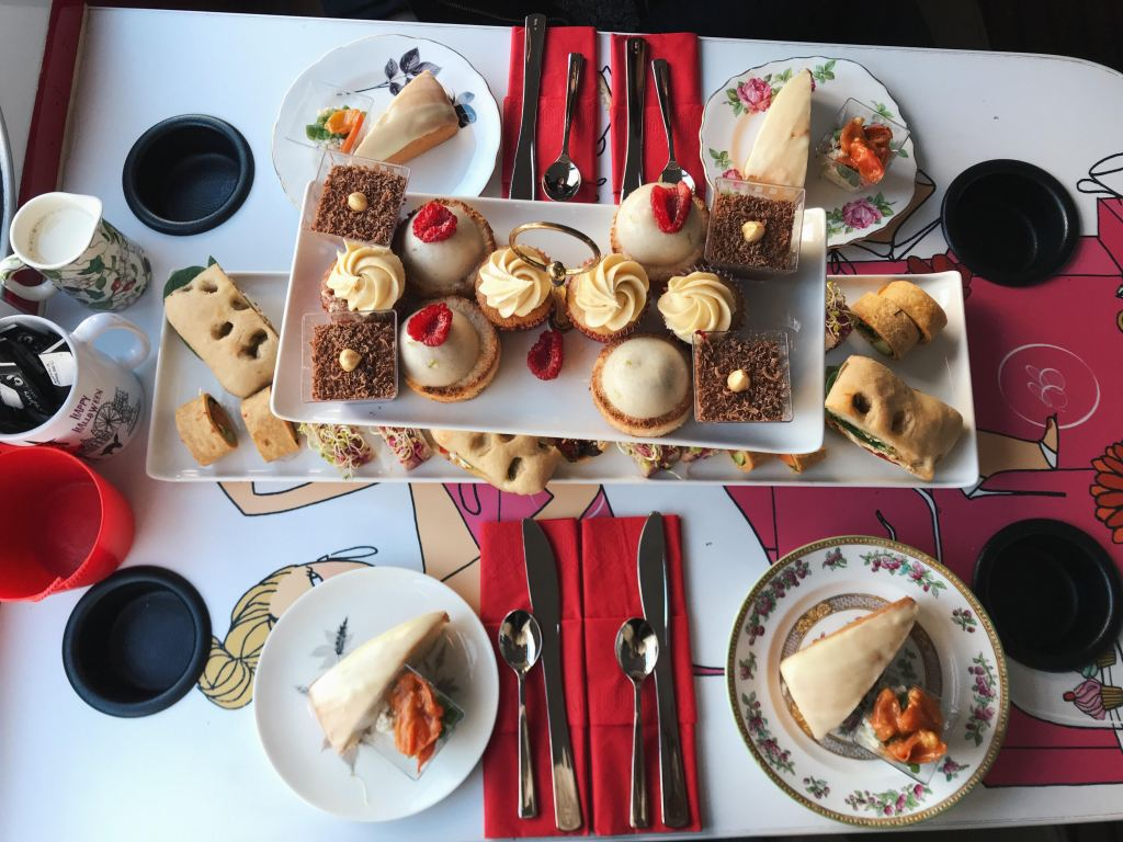 Things to do in London: B Bakery Afternoon Tea Bus