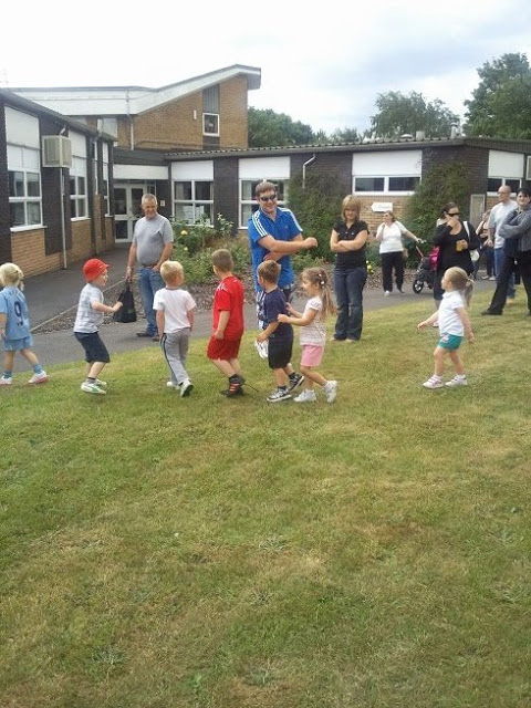 Ella at her school sports day