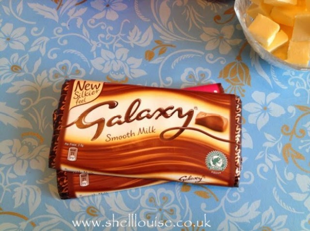 Galaxy chocolate