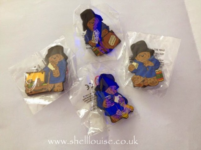 Paddington badges from Robertson's - excellent customer service