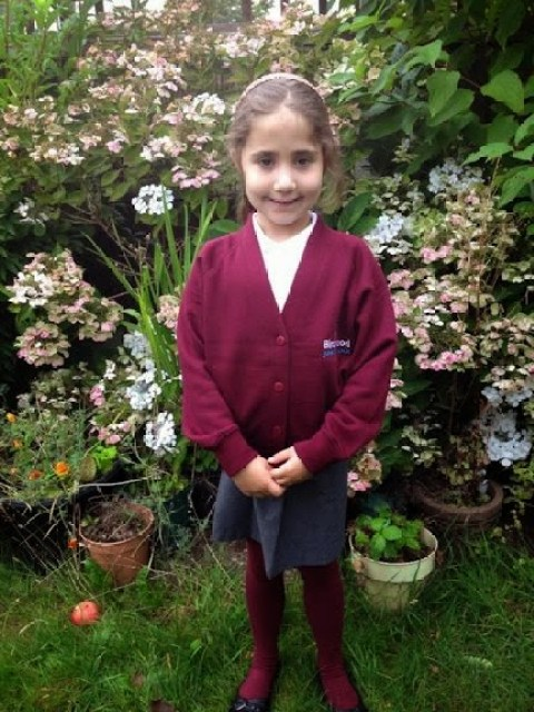 No more infants school for Ella, she's now in year 3