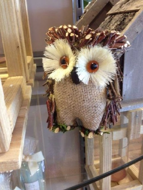 Owl decoration at Home sense