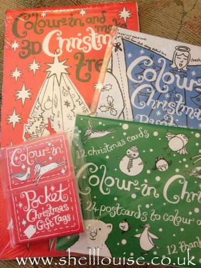 Christmas colouring packs
