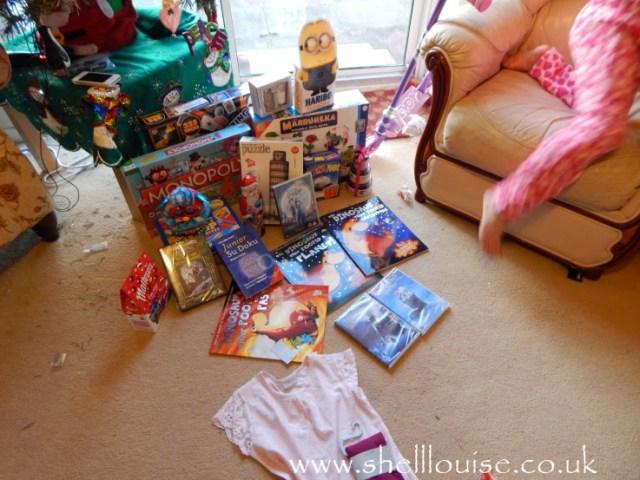some of Ella's presents
