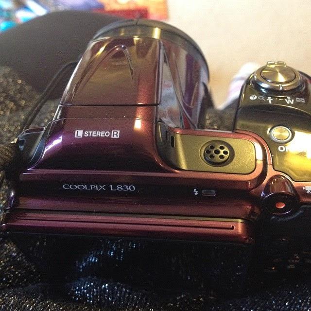 My new Coolpix camera