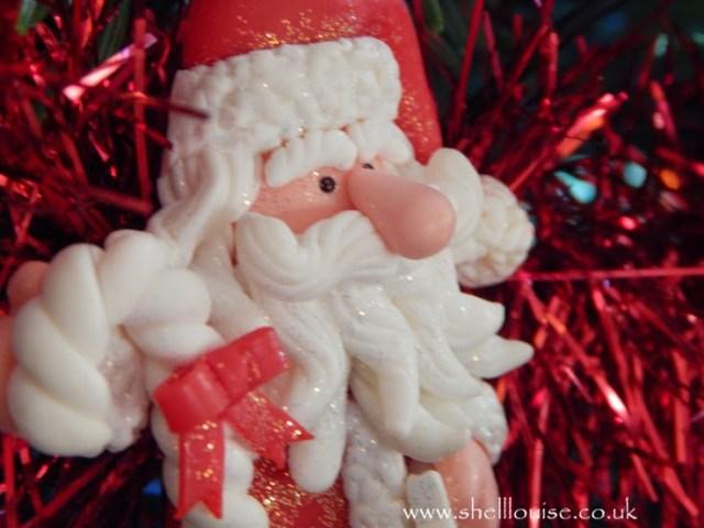 52 week photography course - Santa decoration