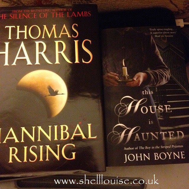 books from the charity shop