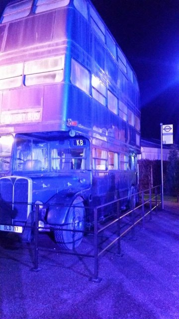 Harry Potter Studio Tour - the night bus