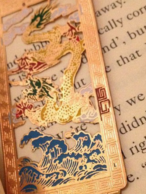 Book and bookmark