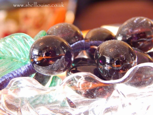 Budding Photographers - Close up of glass grapes