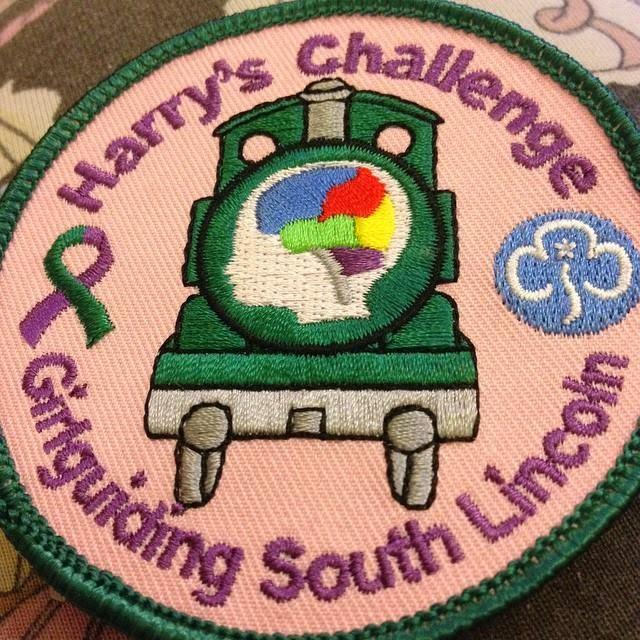 Kaycee's brownie badge