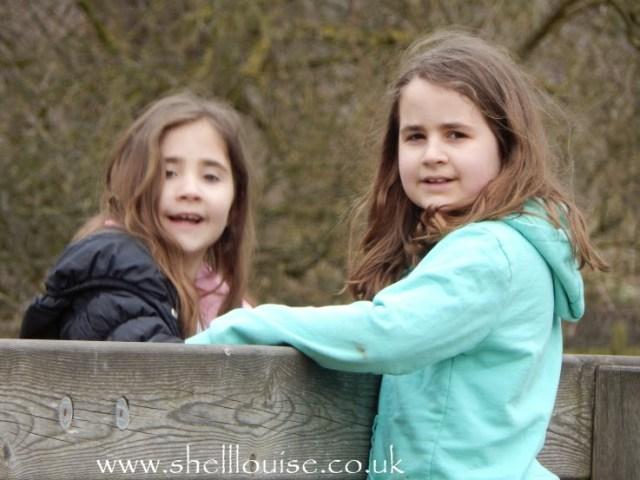 Kaycee and Ella at Rufford Abbey