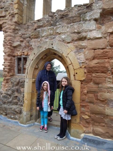 Ant, Kaycee and Ella at Rufford Abbey