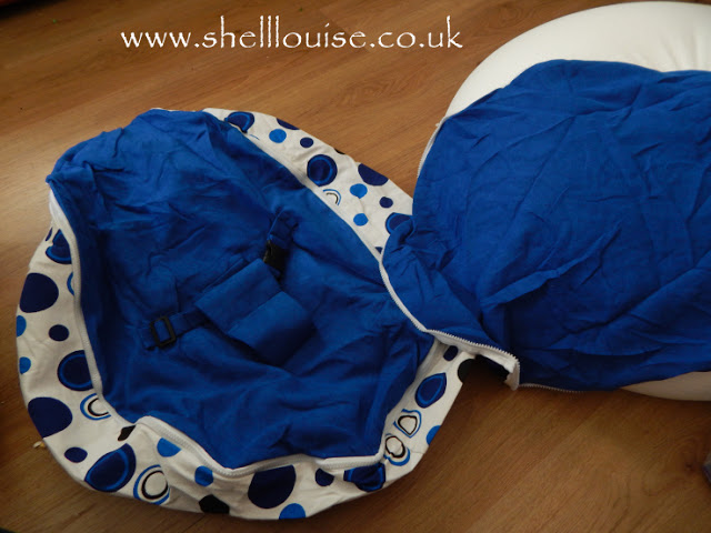 Beanbag cover and inner