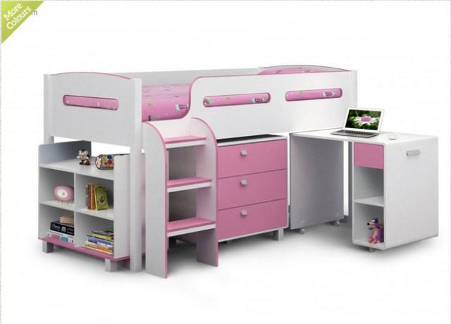 bedroom makeover plans - cabin bed