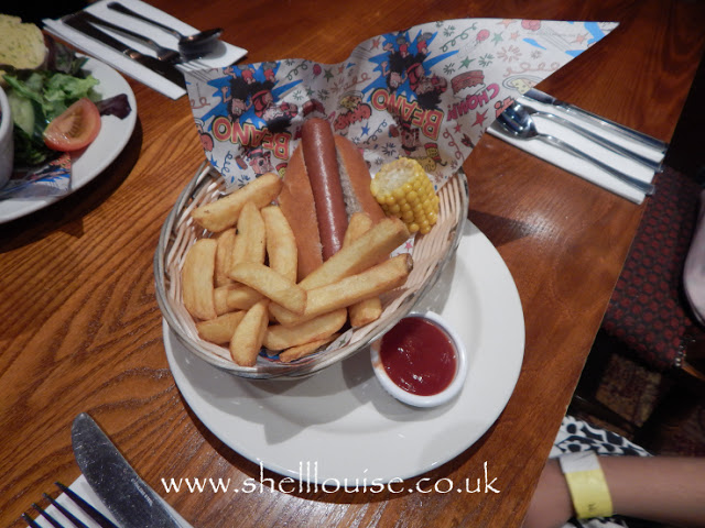 Brewers Fayre Grimsby - big bad hotdog