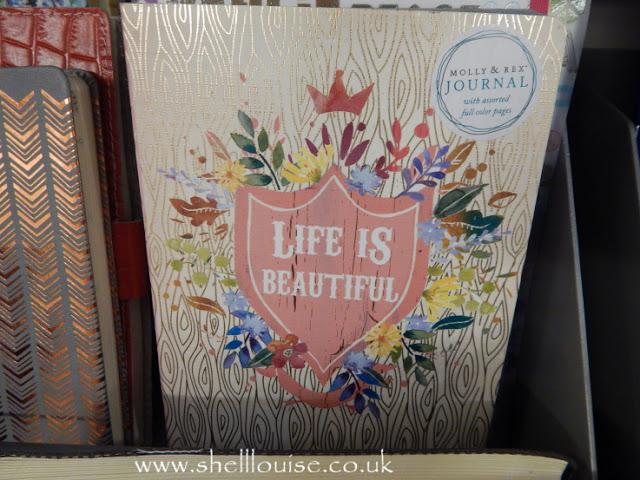 Home Sense - Life is beautiful notebook