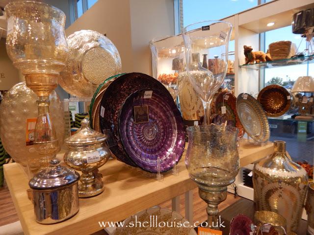 Home Sense - Assorted glassware