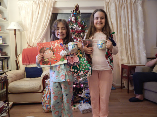 Christmas Eve - new stockings, mugs, pjs and story book