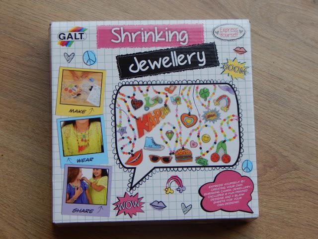 Galt shrinking jewellery Fashion design kit