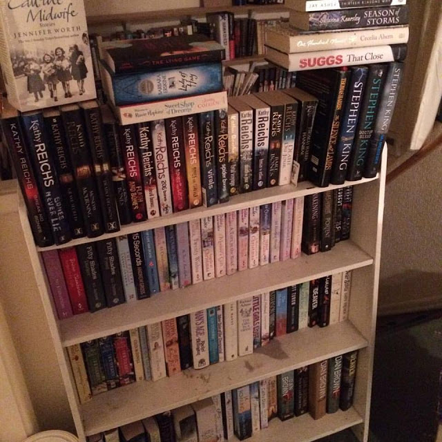 Books on my bookcase that I want to read