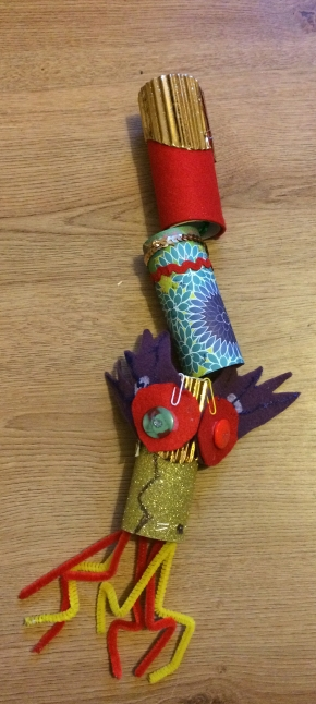 Kaycee's Dragon - dragon craft