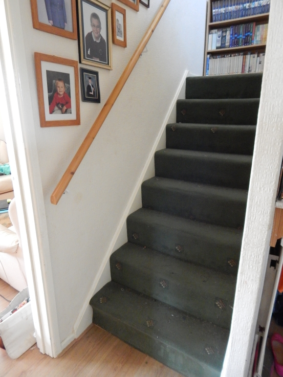Updated stairs project - Carpeted stairs