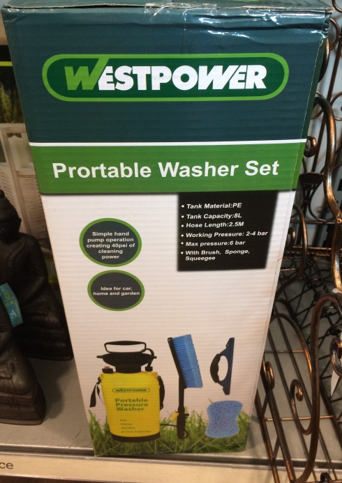 HomeSense portable washer set - Father's day
