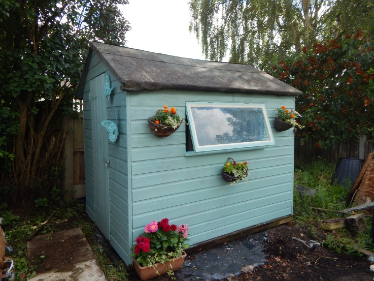 Shed after #PimpMyShed