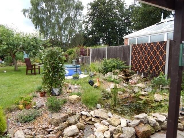 Garden after - garden tidy
