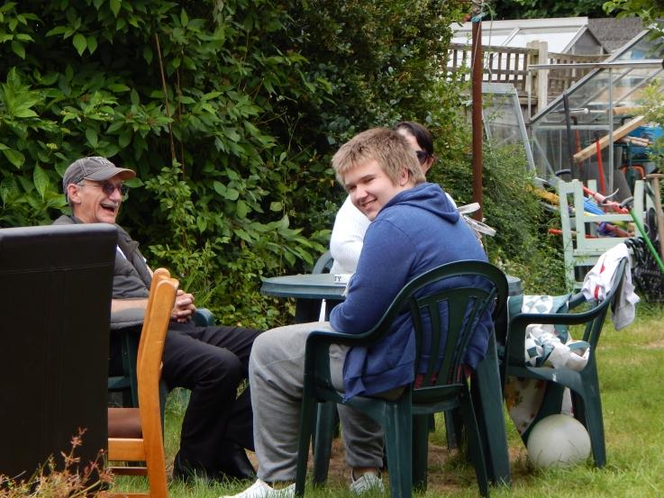 Mum, dad and Aiden