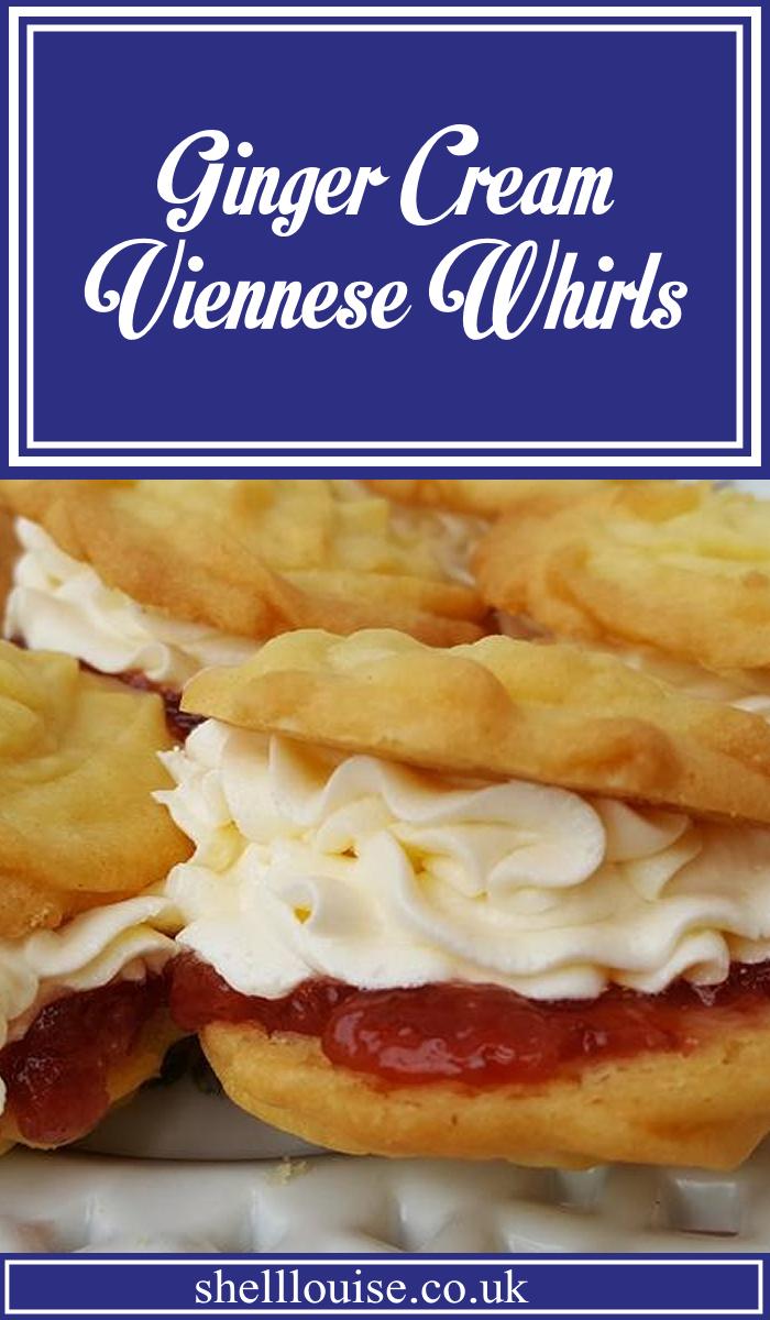 ginger cream viennese whirls