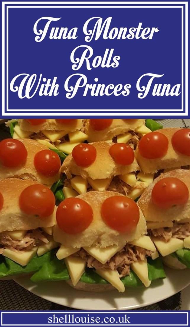 Tuna monster rolls with Princes tuna