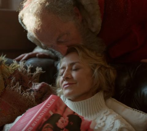 M&S Christmas advert 2016 Mrs Claus