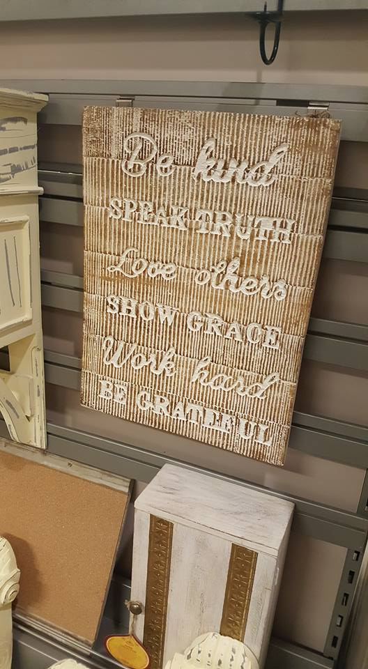 Be Kind wall plaque - HomeSense refresh your home