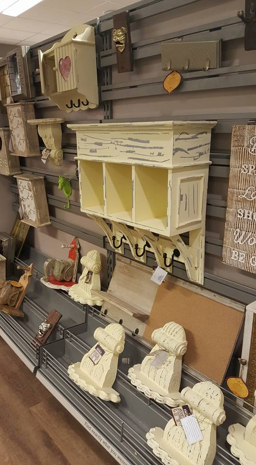 Shelf and hooks - HomeSense refresh your home