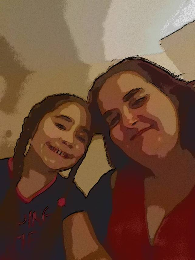 Ella and mum photo filters