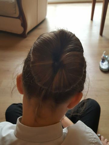 25th February Ella hair bun